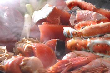函館海鮮寄せ鍋セットの作り方